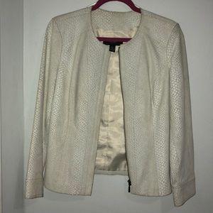 Alfani Genuine Leather Jacket.